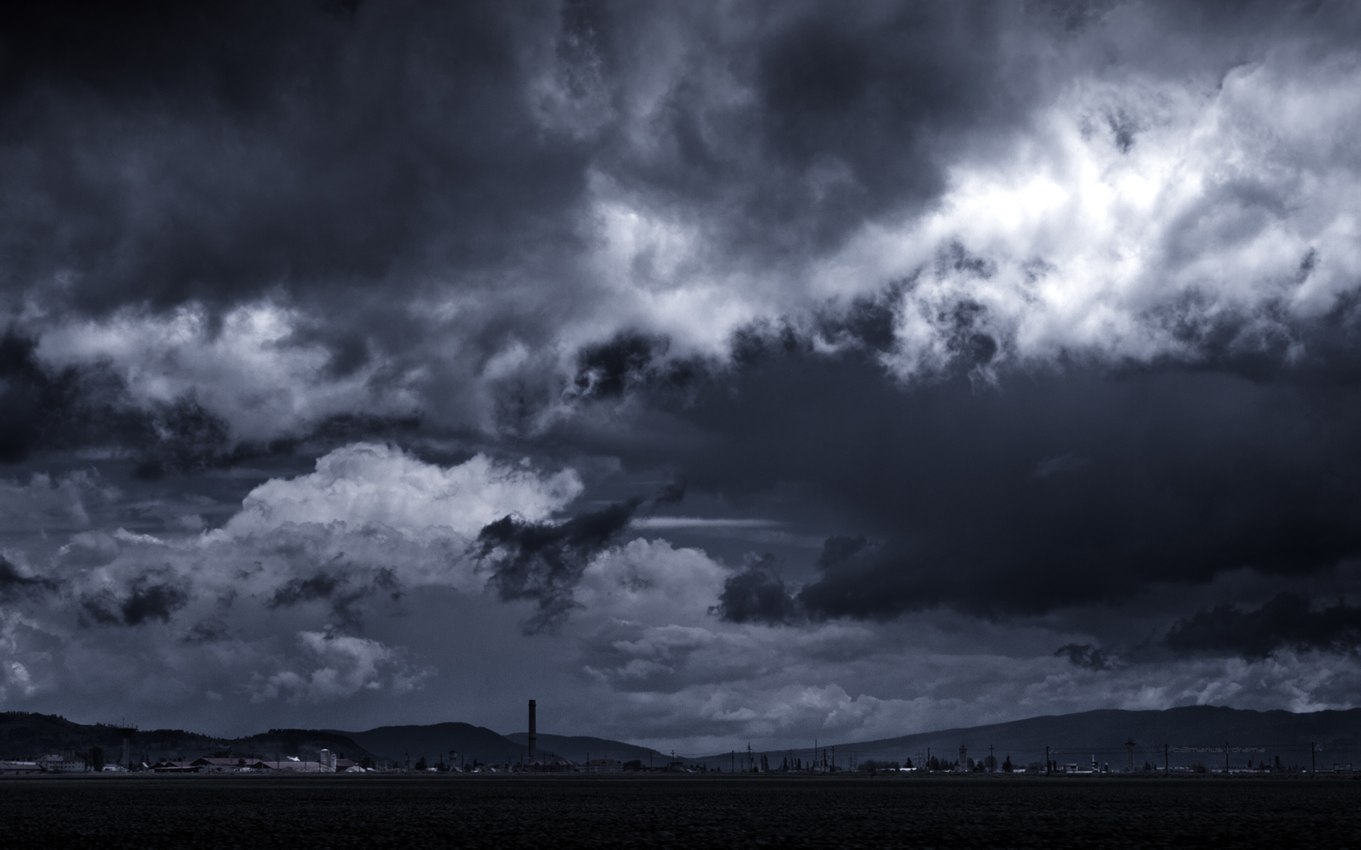 free storm clouds wallpaper 1920x1200 7950