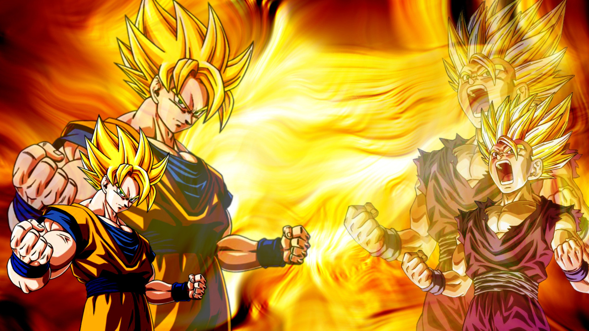 Free Super Saiyan Wallpaper