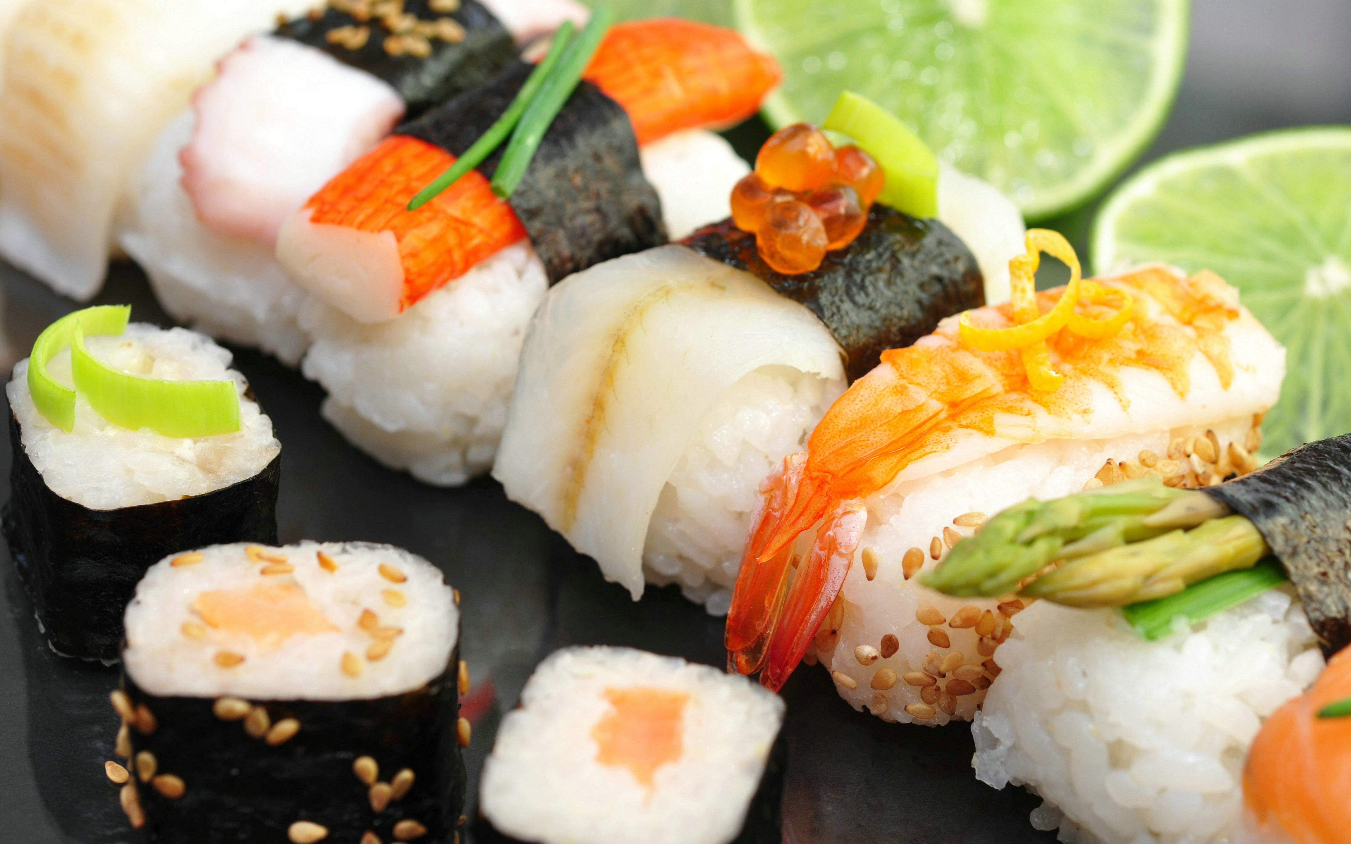 Free Sushi Wallpaper