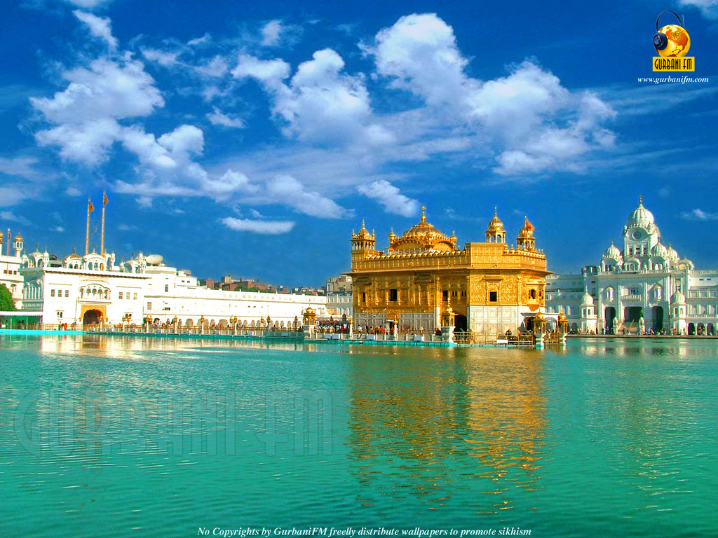 Free Golden Temple Wallpaper Download The 1024x768px