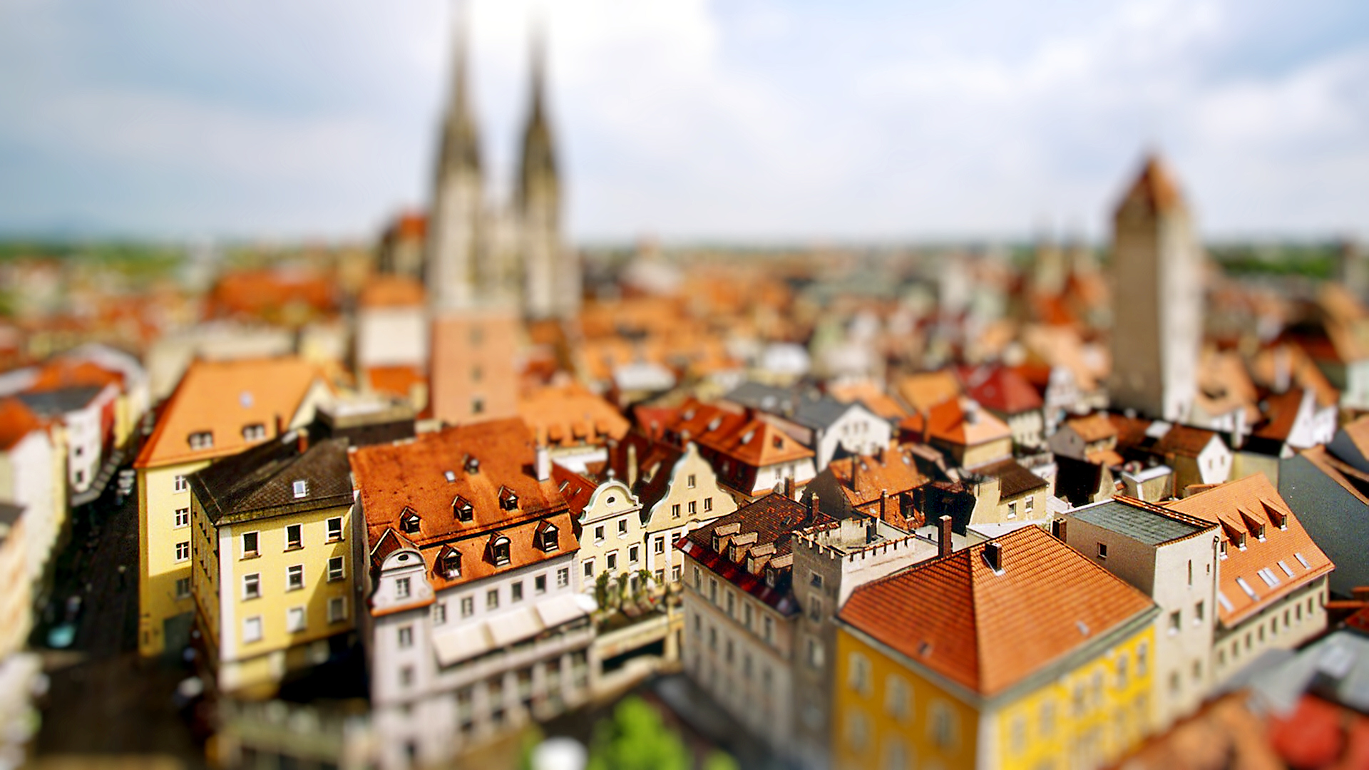 ... Tilt Shift Wallpaper · Tilt Shift Wallpaper