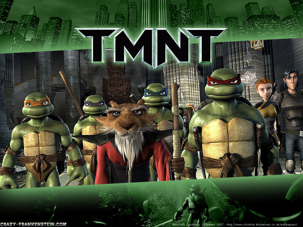 Wallpaper: TMNT Crew Master cartoon wallpaper