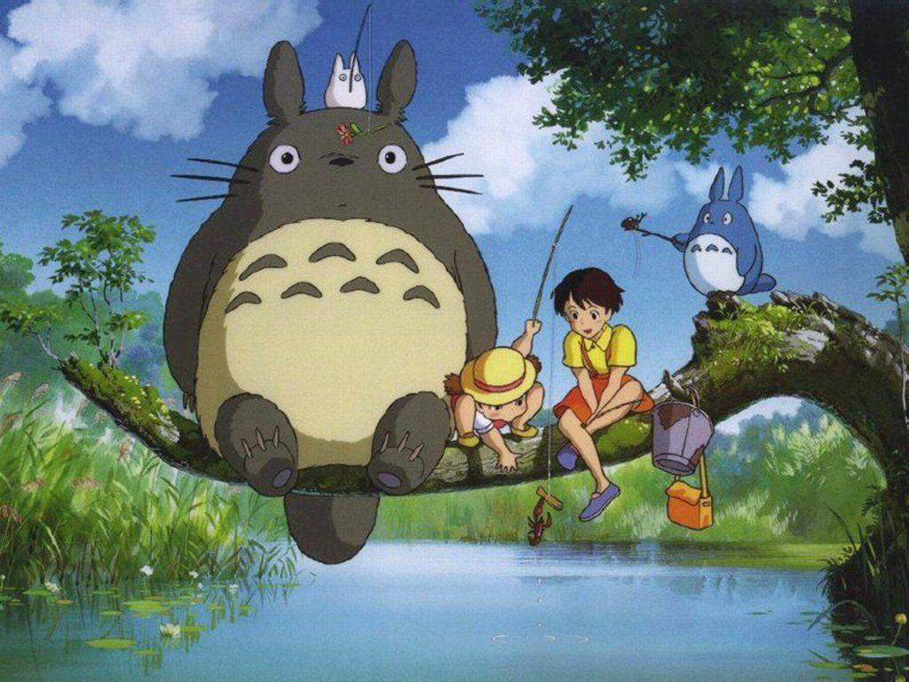 Free Totoro Wallpaper