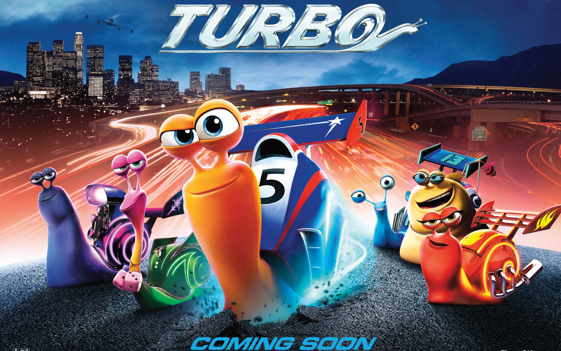 Turbo Movie 2013 Wallpaper