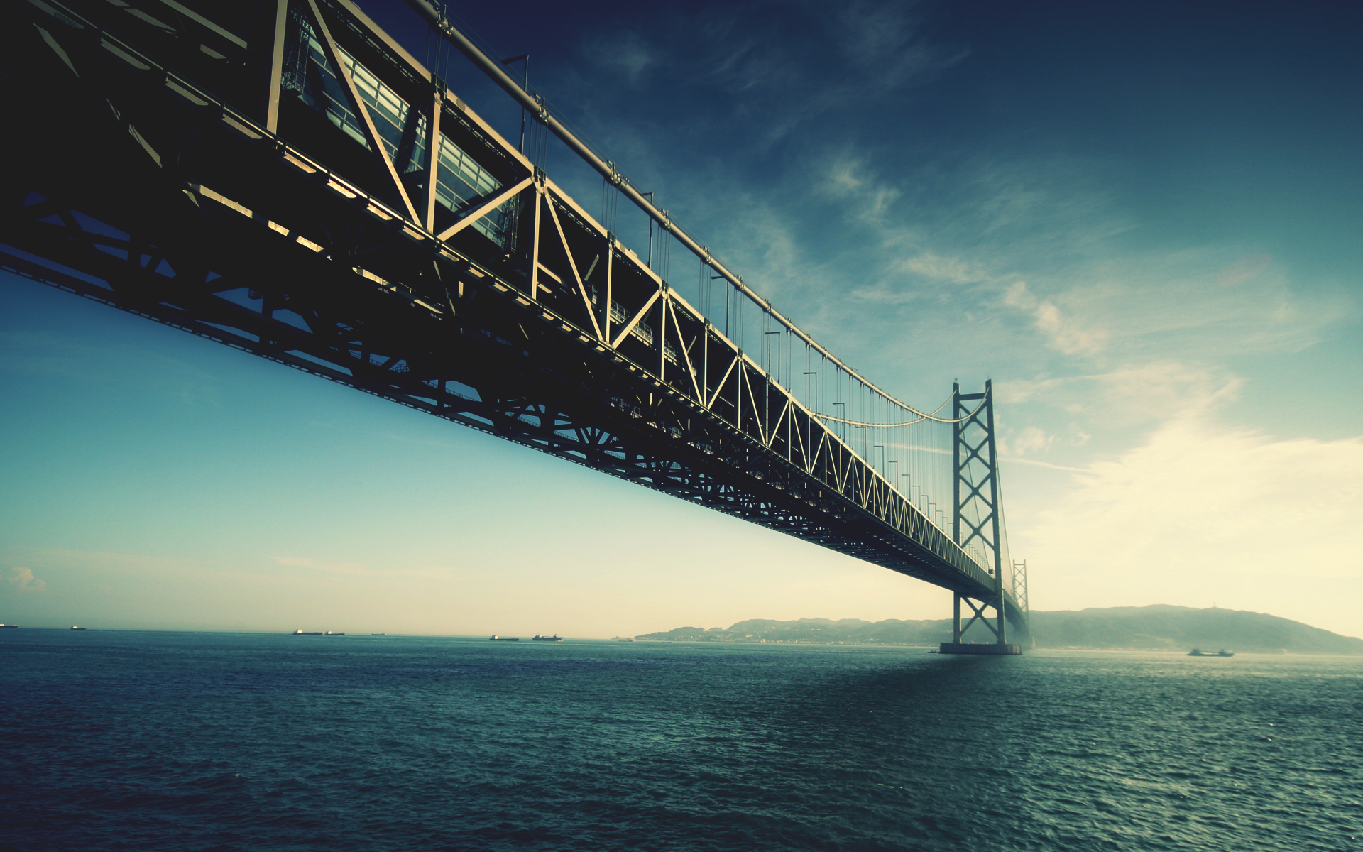 Free Under Bridge Wallpaper