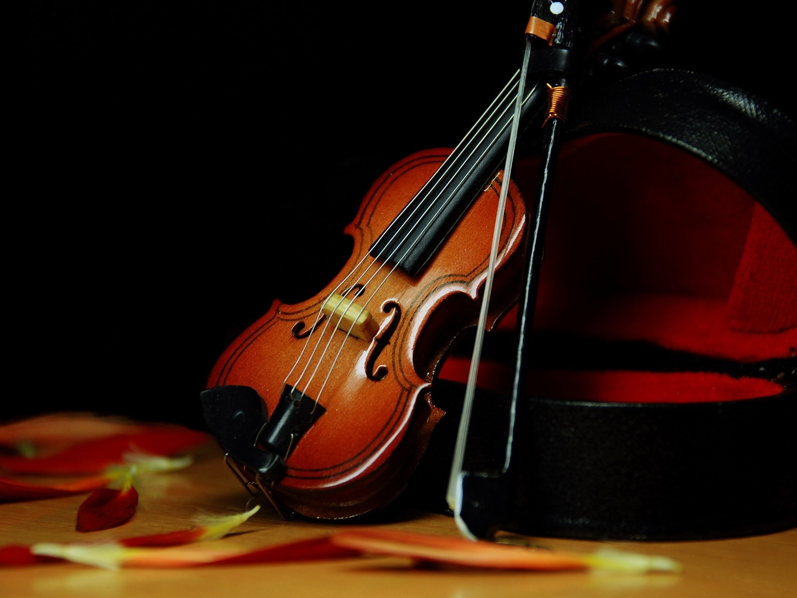 Free Violin Wallpaper