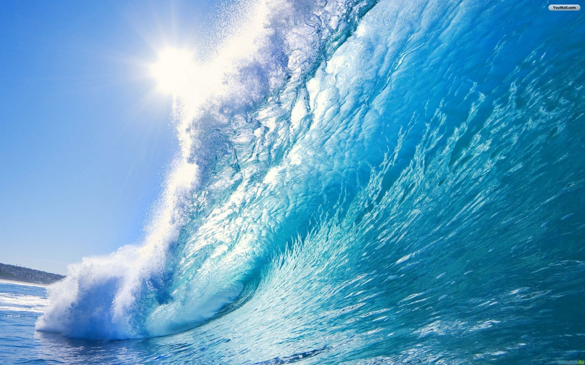 Ocean Wave Wallpaper