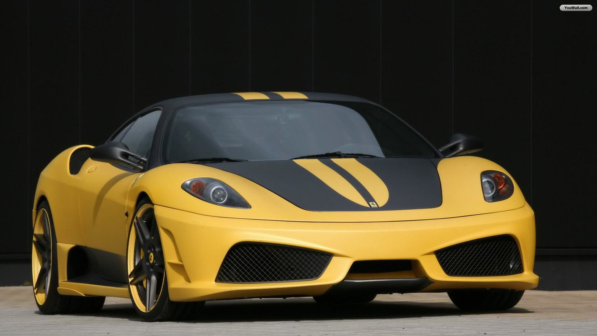 Yellow Ferrari Wallpaper