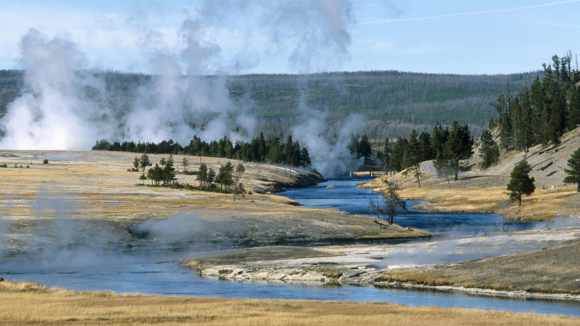 Free Yellowstone Wallpaper