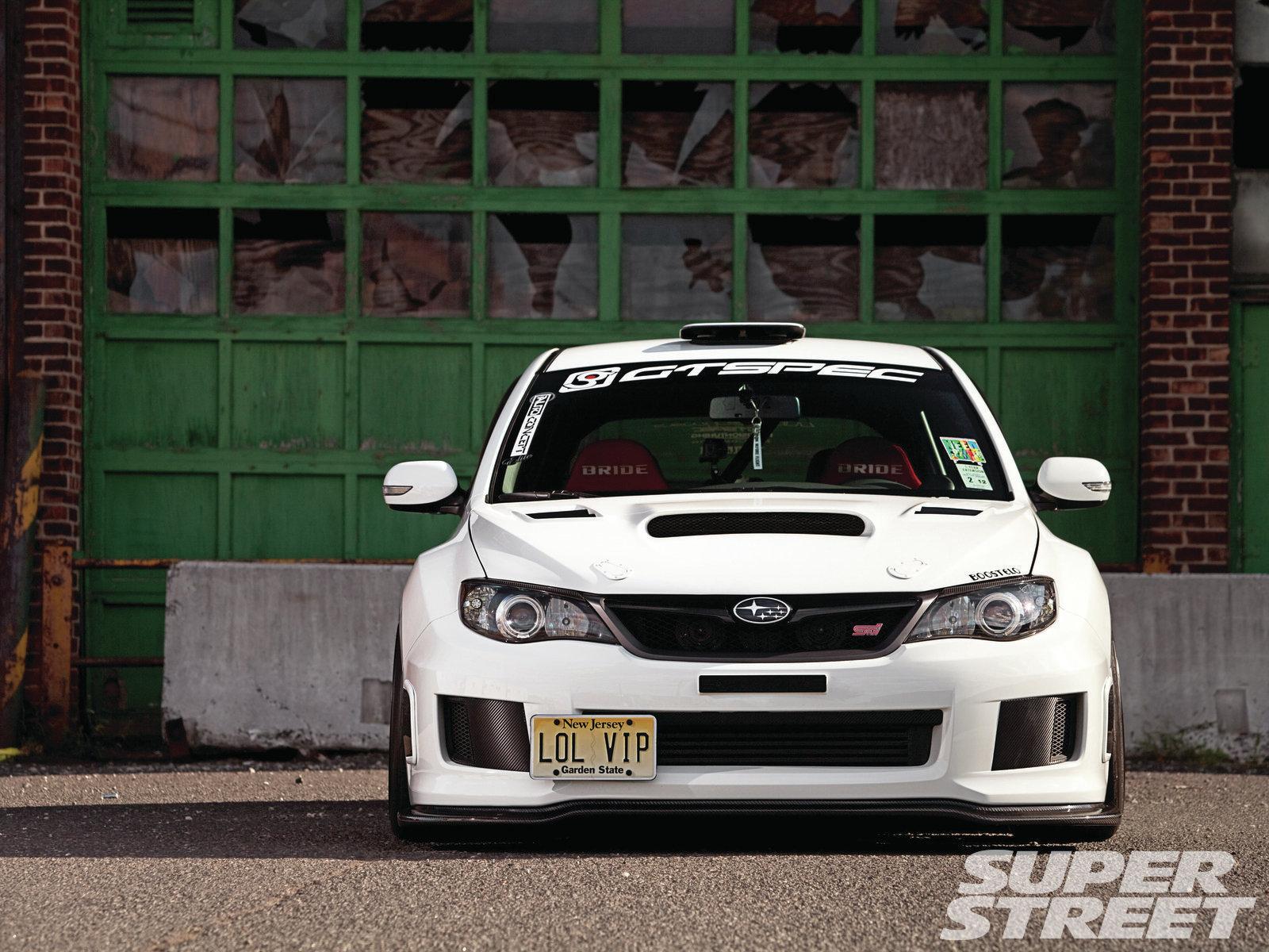 Front Subaru Impreza STI