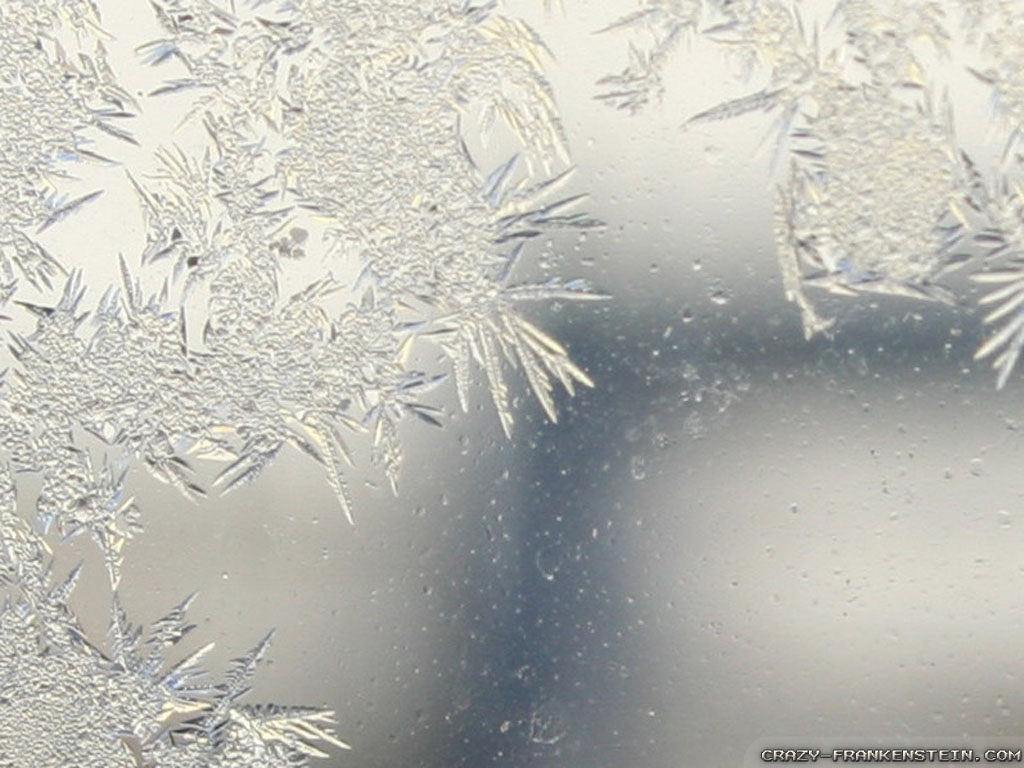 Wallpaper: Nice on glass Frost wallpapers