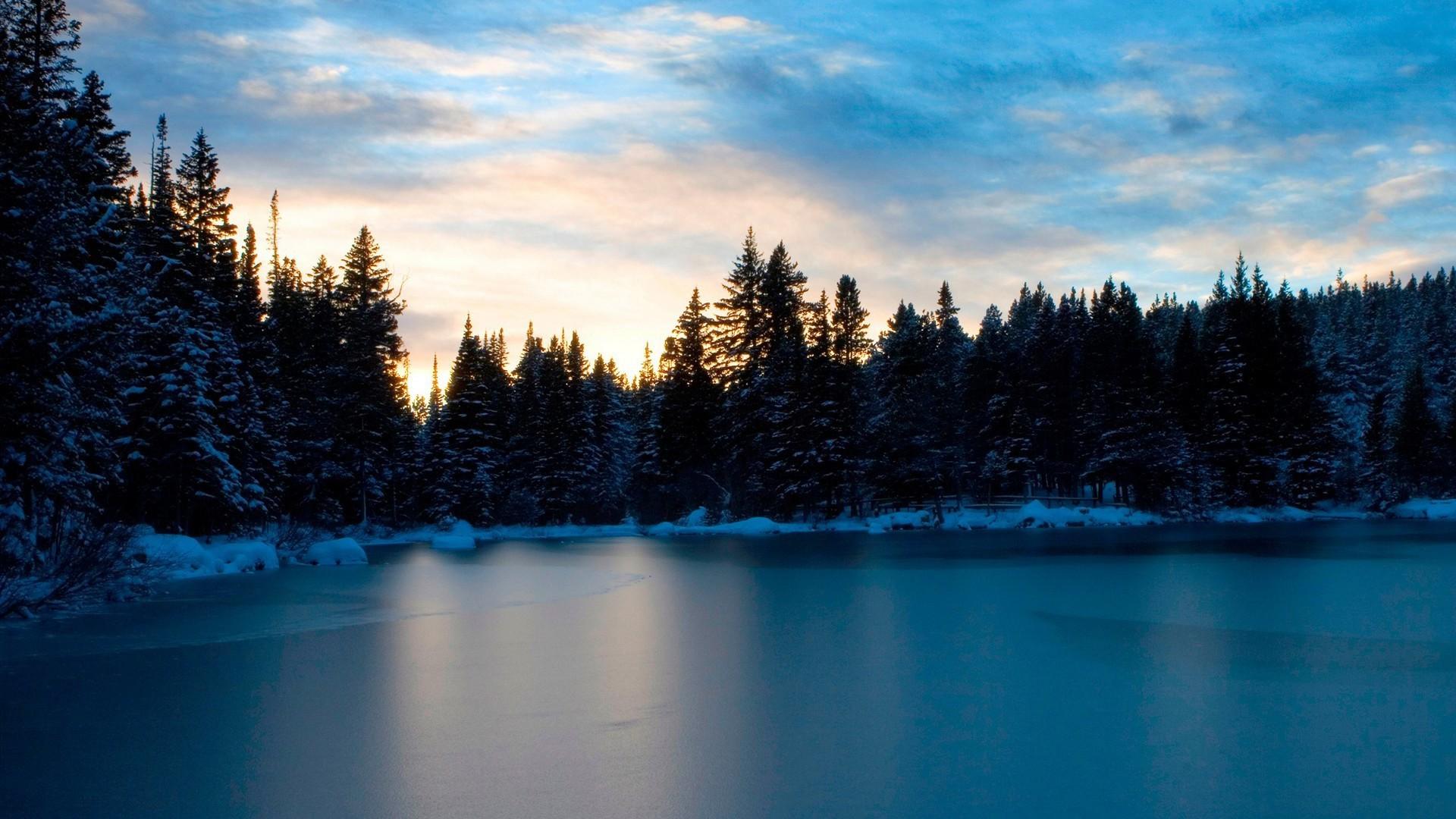 Frozen Lake Wallpaper 1920x1080px