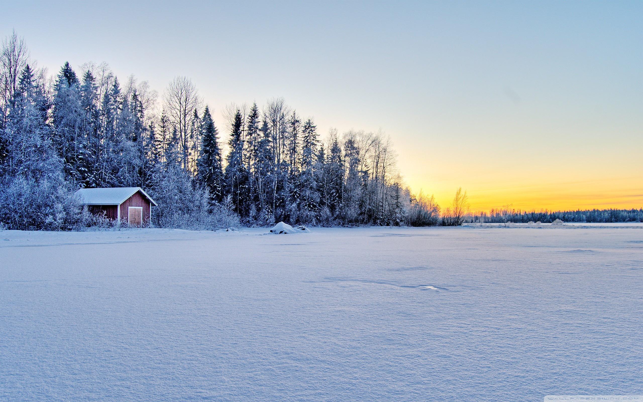 Frozen Lake Hd Desktop Wallpaper High Definition Fullscreen 2560x1600px
