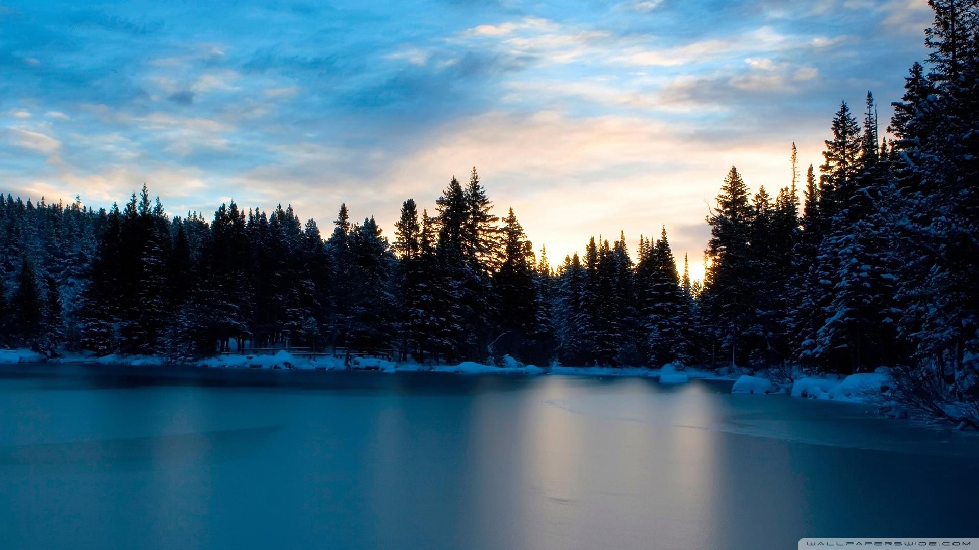 Frozen Lake Wallpaper HD