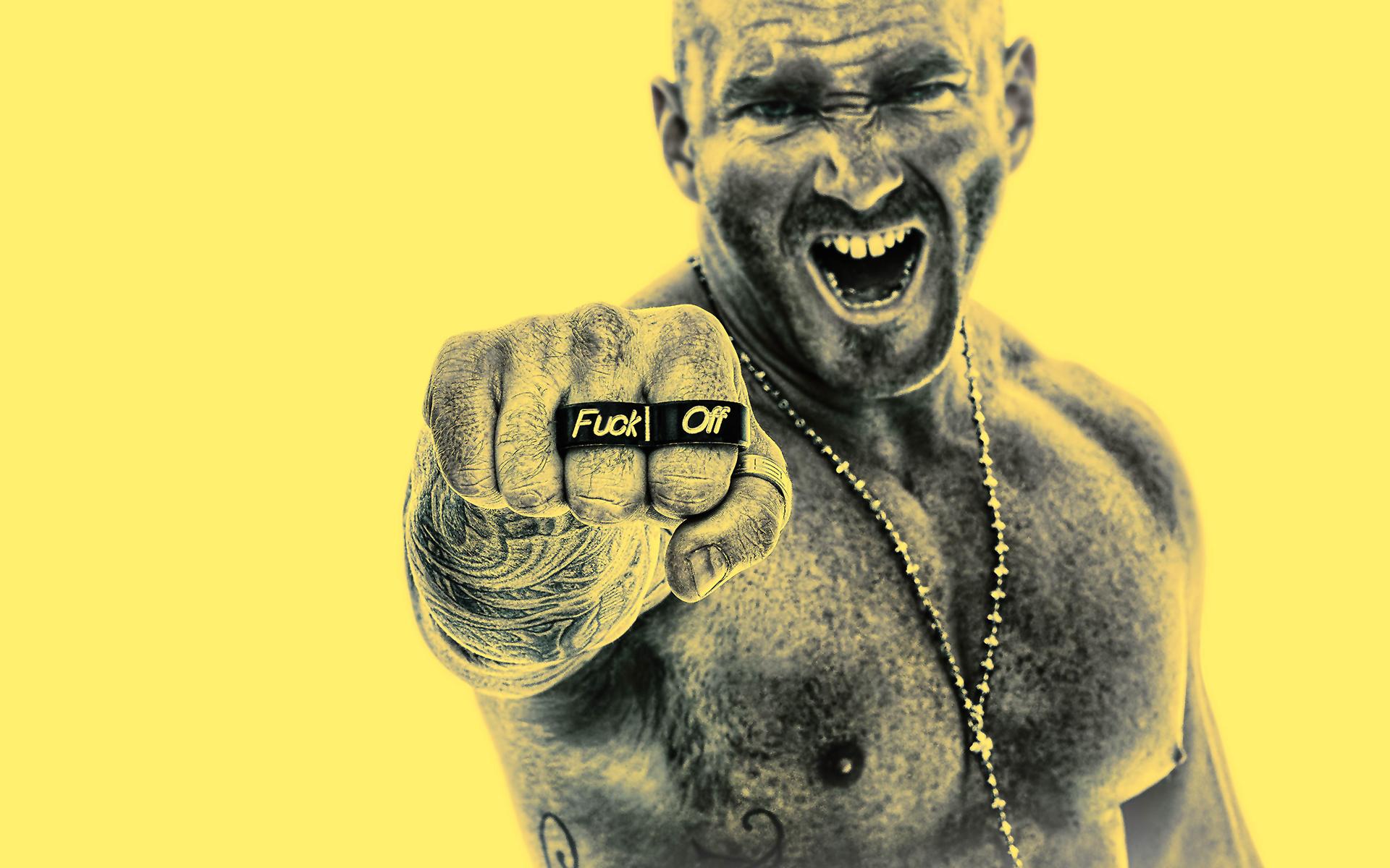 Fuck off fist