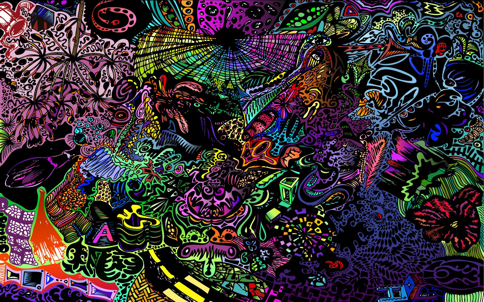 Funky Wallpaper