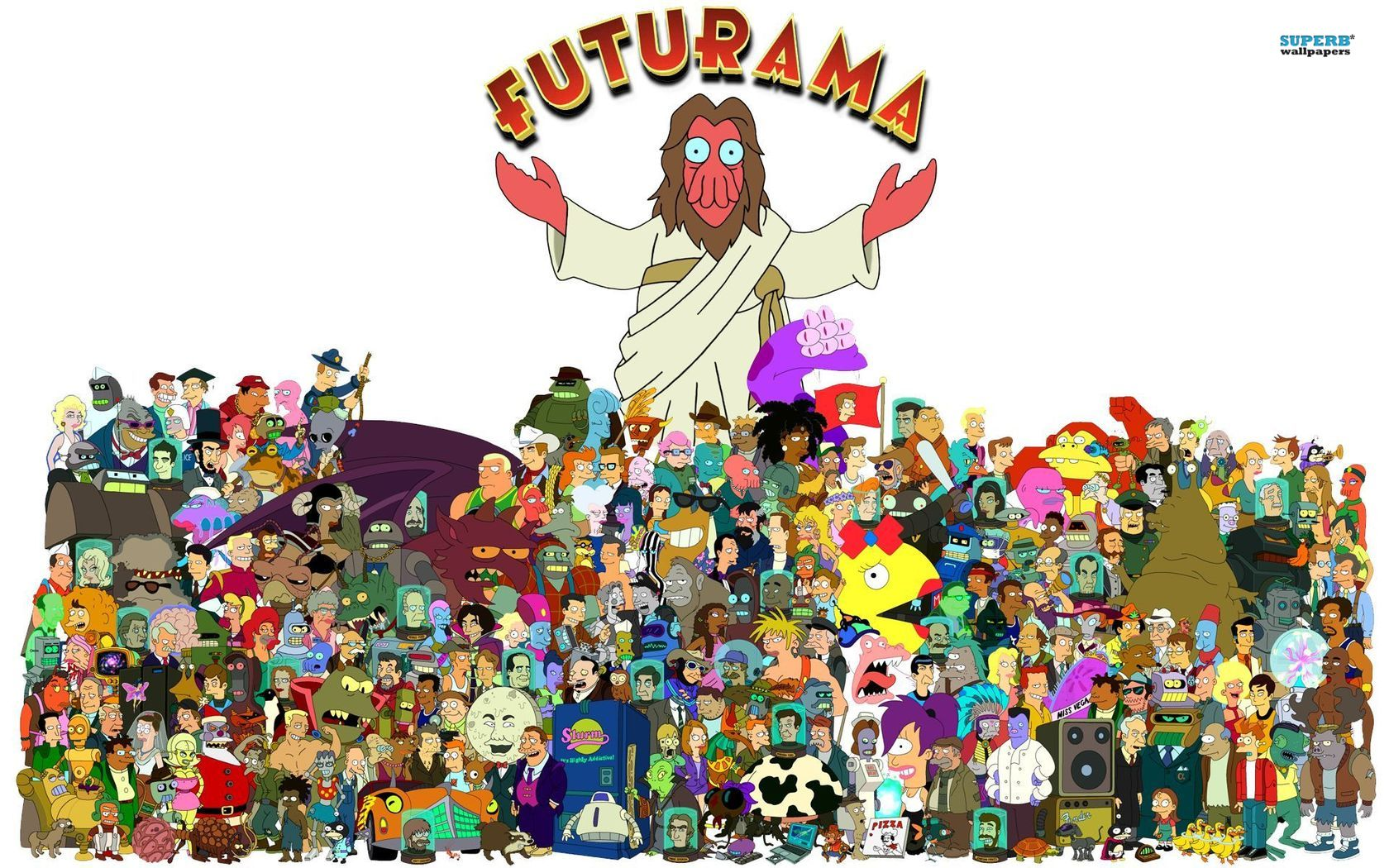 Futurama first aired on FOX in 1999, created by Matt Groening (more famously known for being the creator of The Simpsons), and David Cohen.