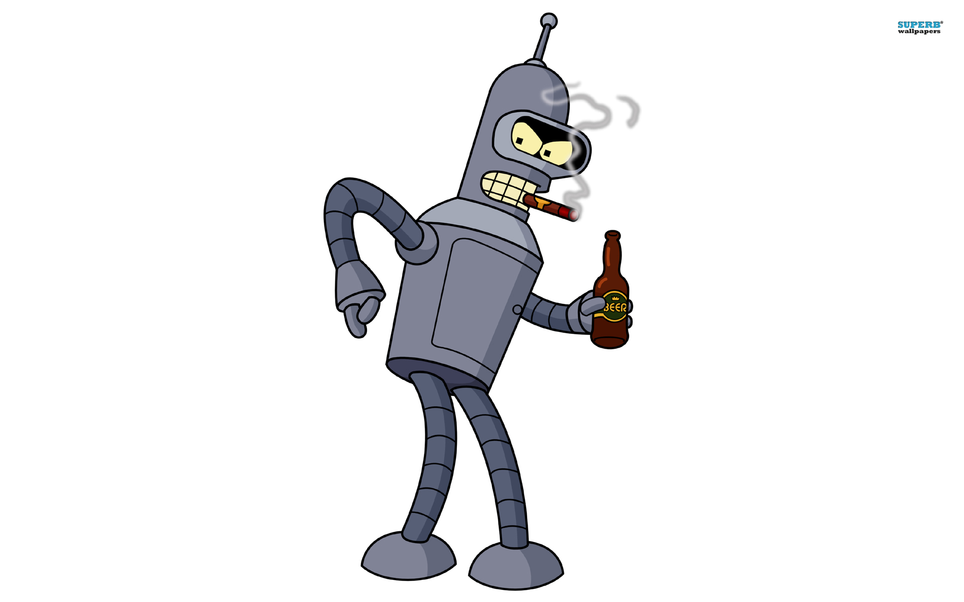 Bender - Futurama wallpaper 1920x1200