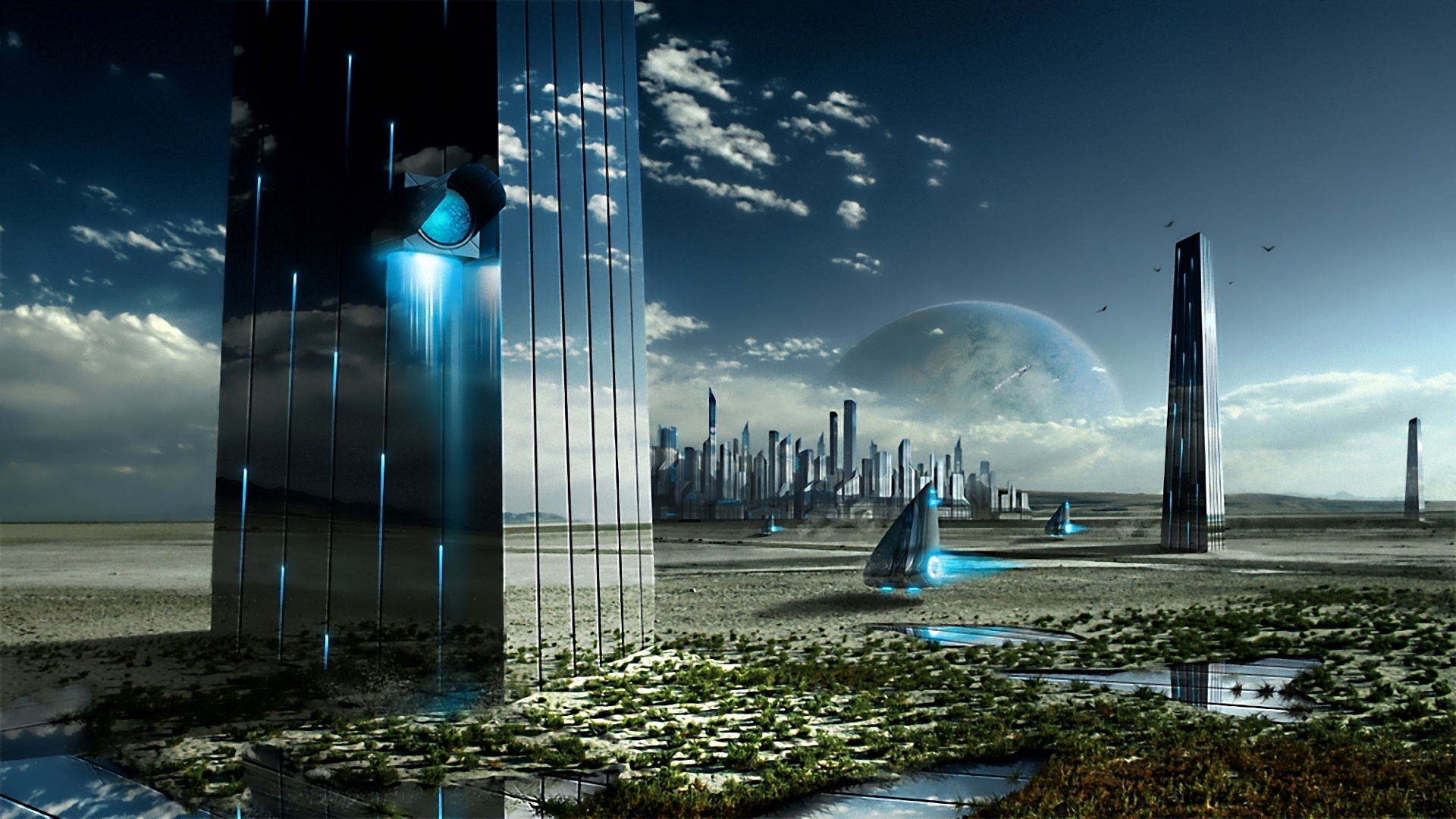 amazing future world high resolution wallpaper