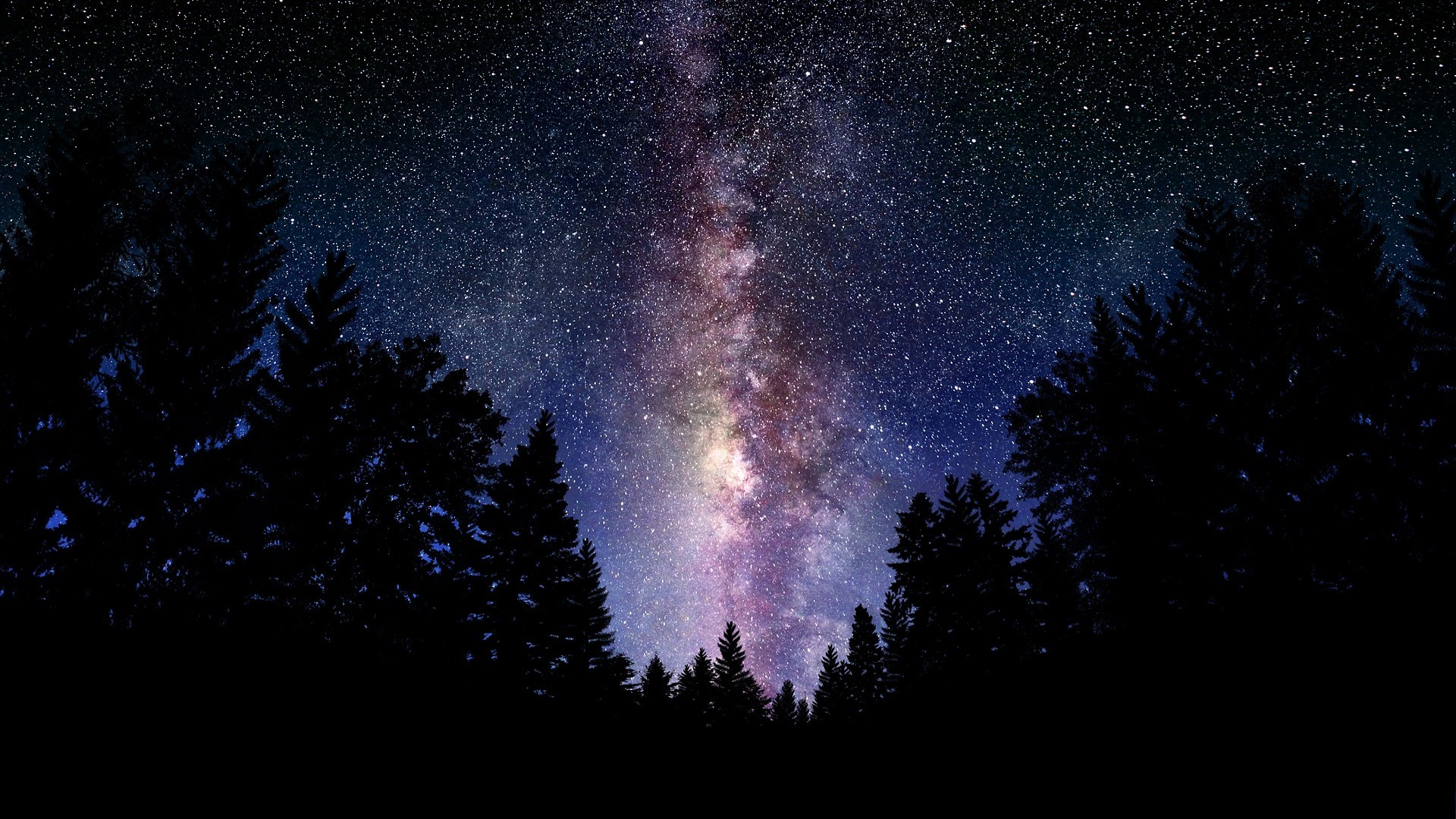 beautiful galaxy widescreen wallpaper