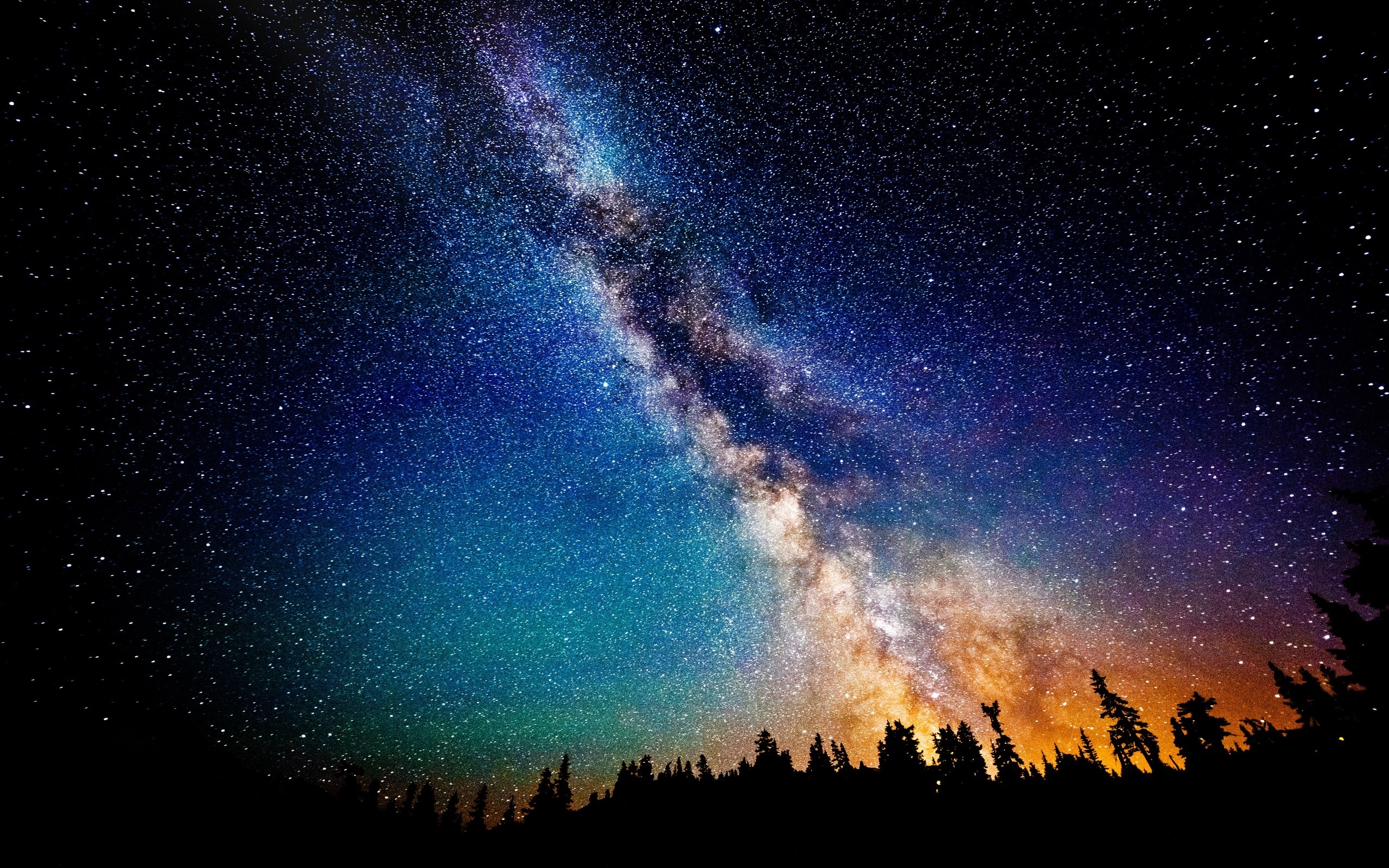galaxy hd wallpaper | 2560x1600 | #44014