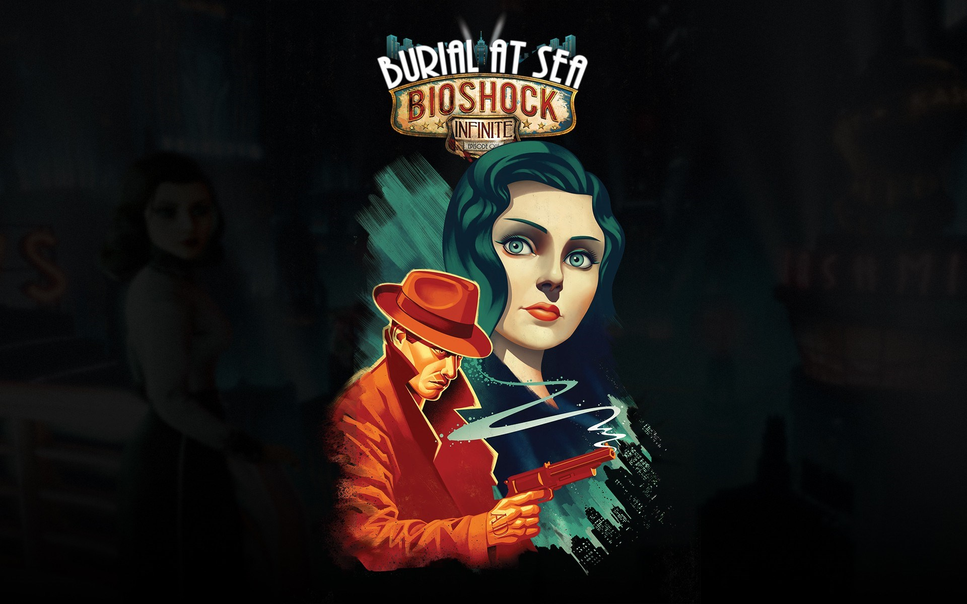 Game Bioshock Infinite Art