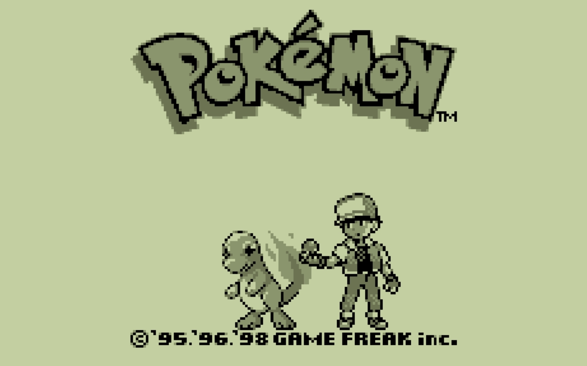 Gameboy Pokemon Wallpaper
