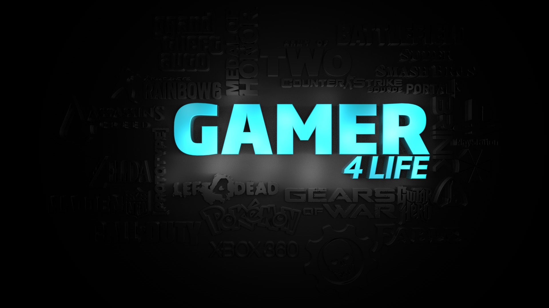 Gamer for Life Wallpaper by ChucklesMedia
