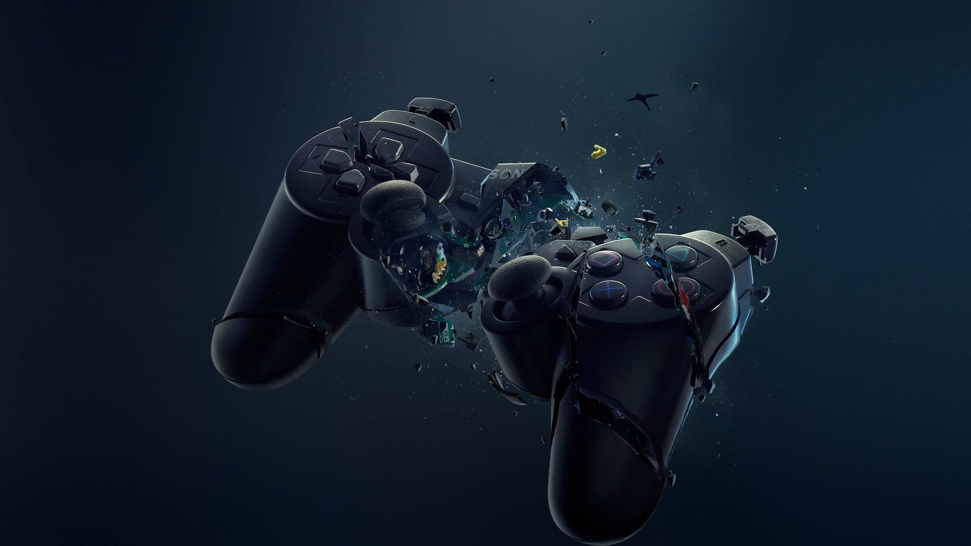Gaming wallpaper games Playstation