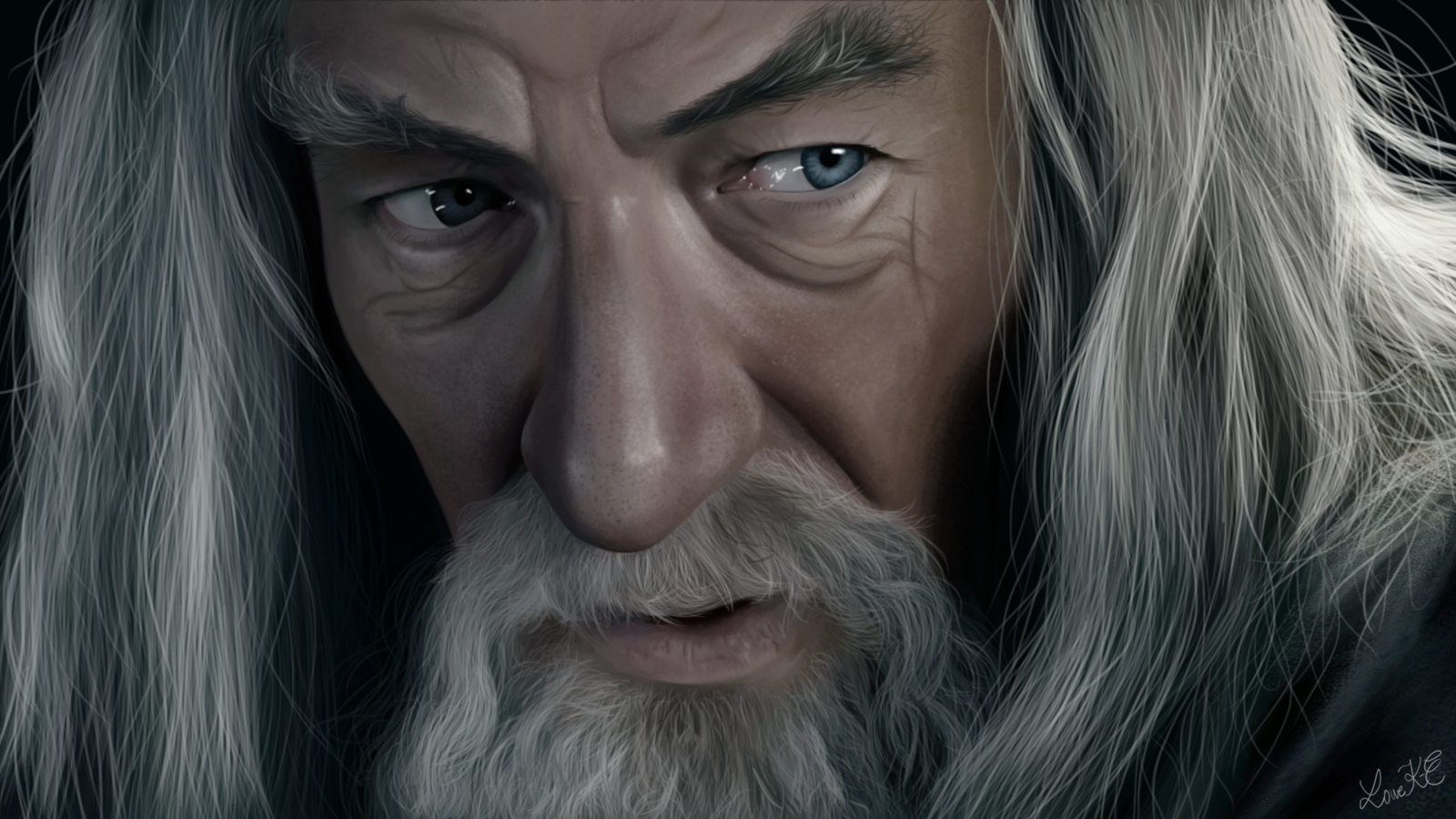 Gandalf the Grey by LotsOfLowe Gandalf the Grey by LotsOfLowe