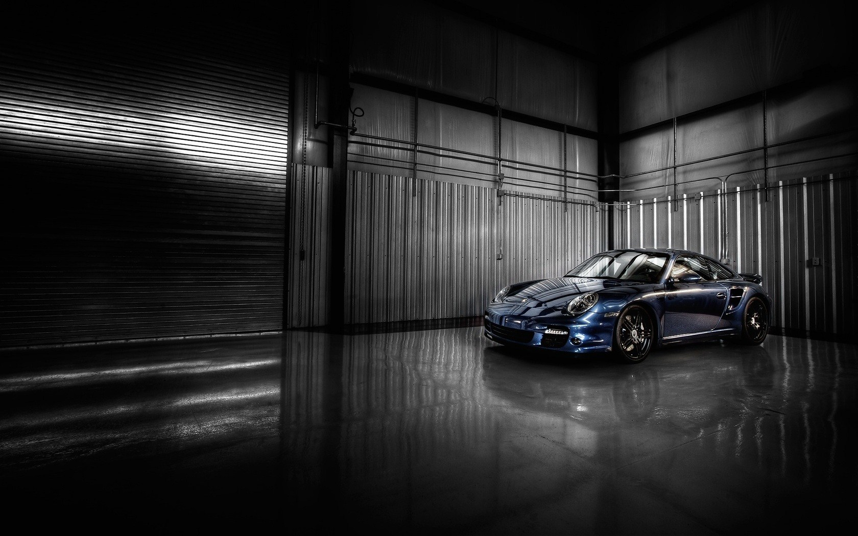 Garage Hd Wallpaper 1680x1050 17004