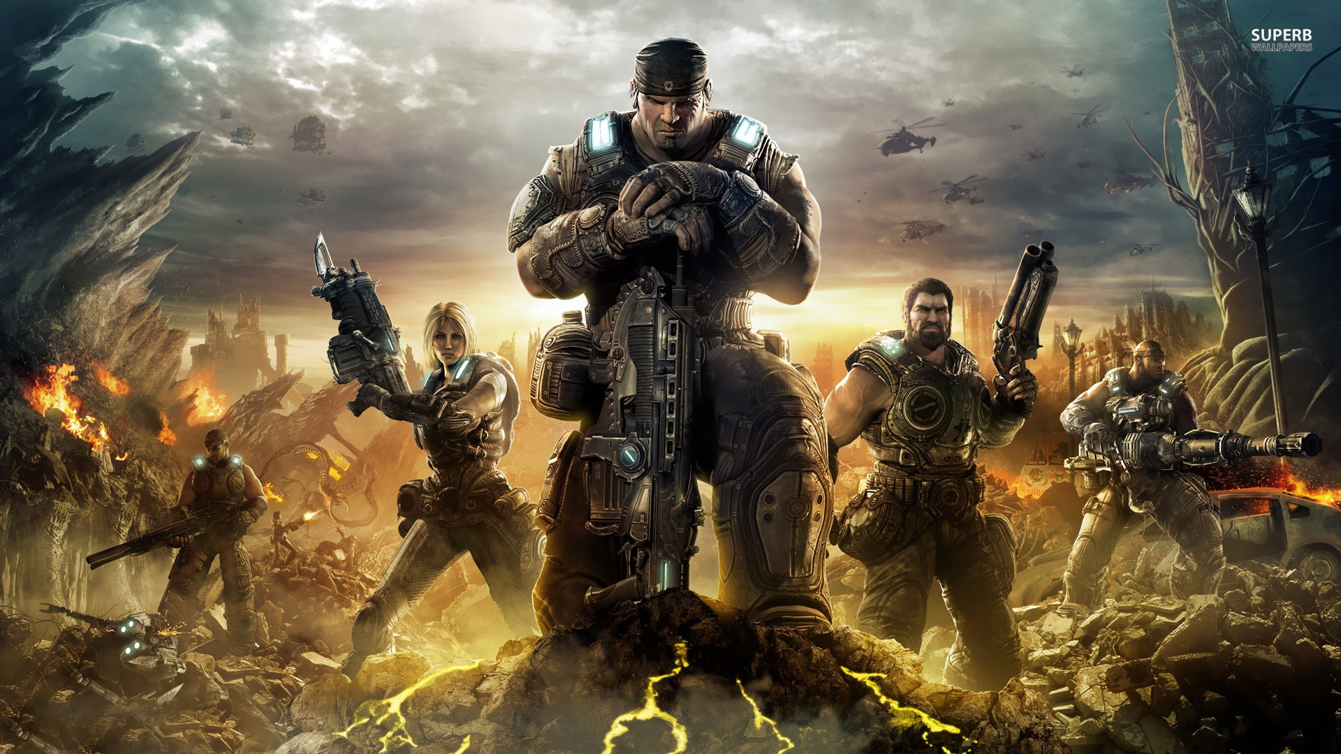 Gears of War 4 and Gears of War: Ultimate Edition Revealed