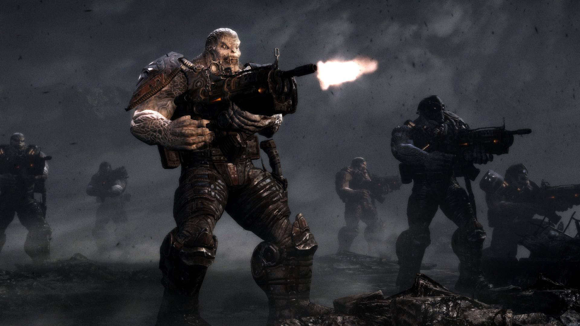 Even though I didn't think the story could get any deeper and more involved than Gears of War 2, but it certainly did.