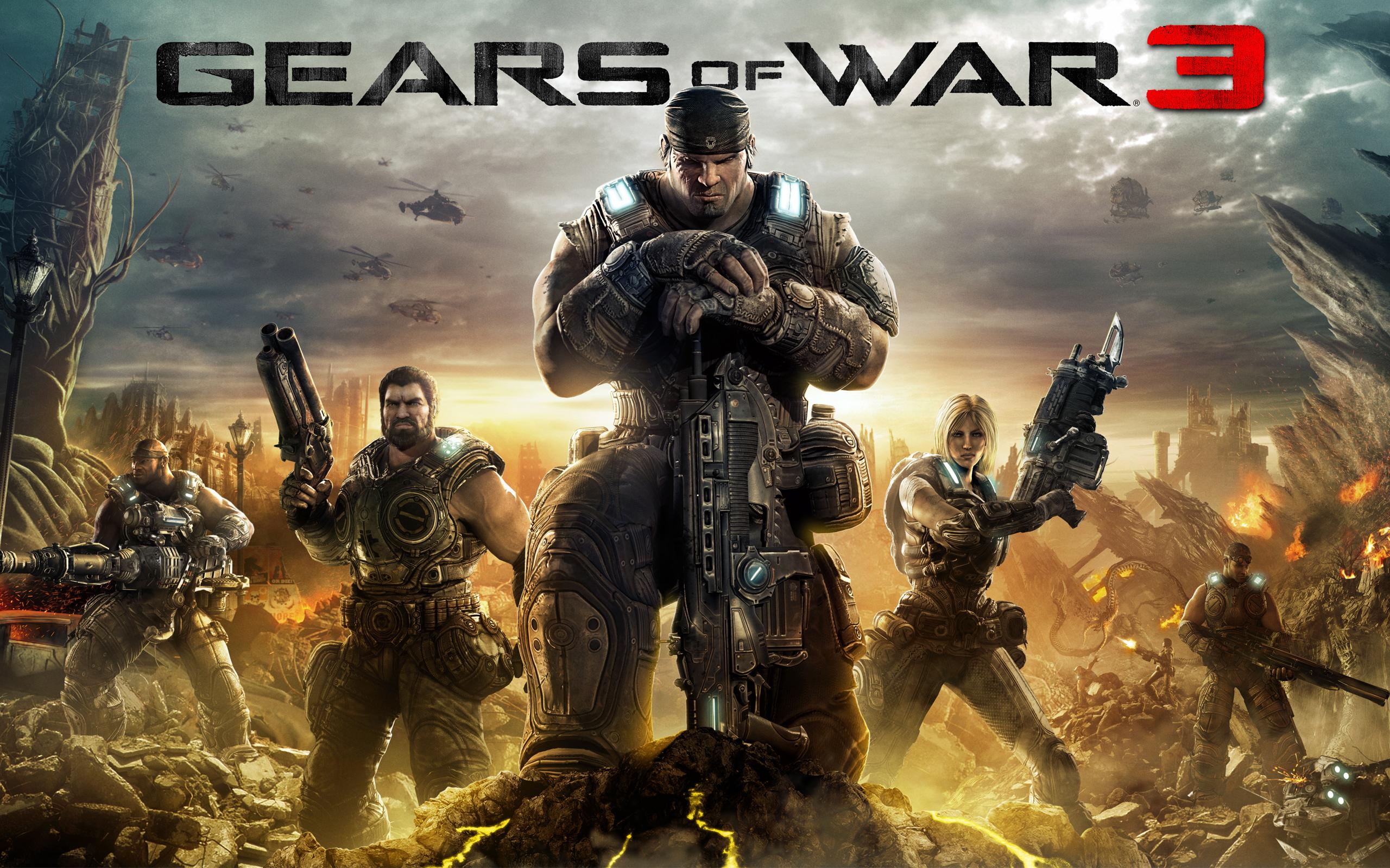 """Gears of War 3 Cover · """