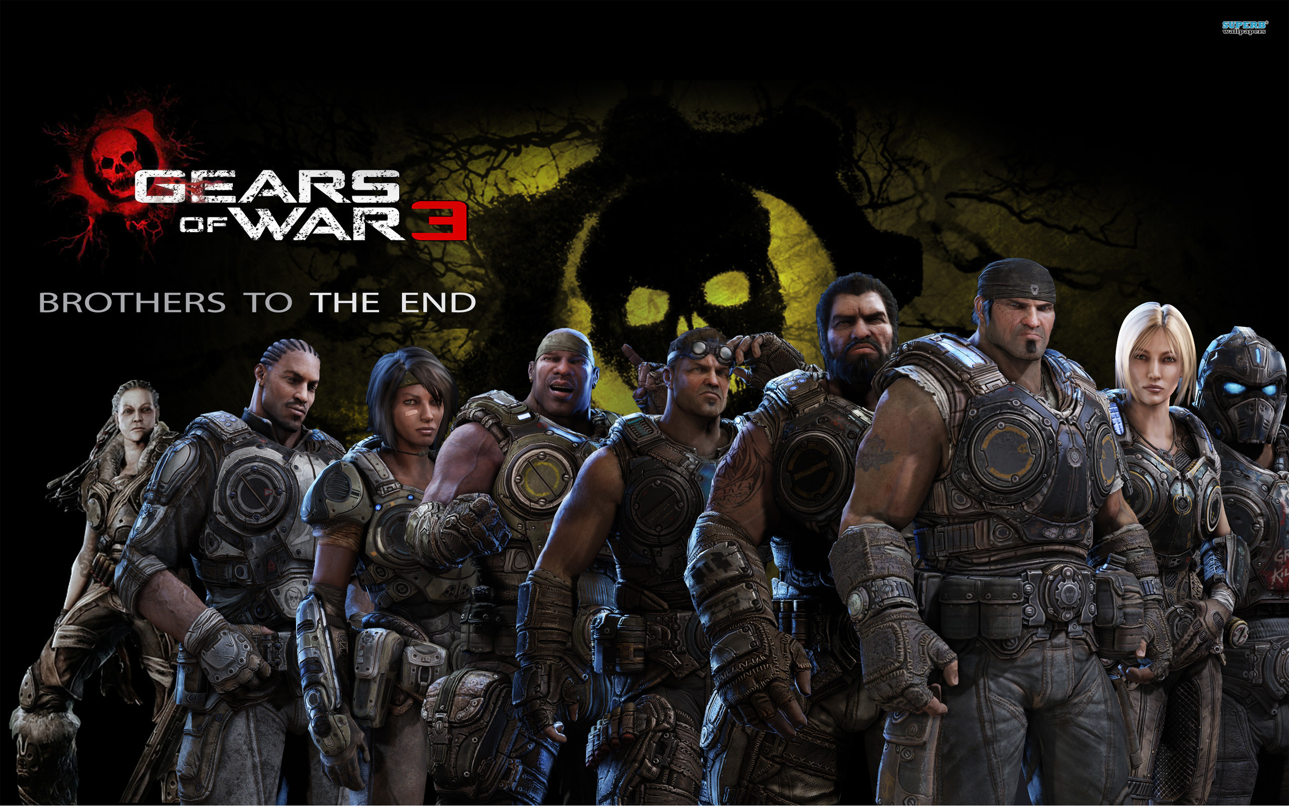 Gears of War 3 wallpaper 2560x1600 jpg