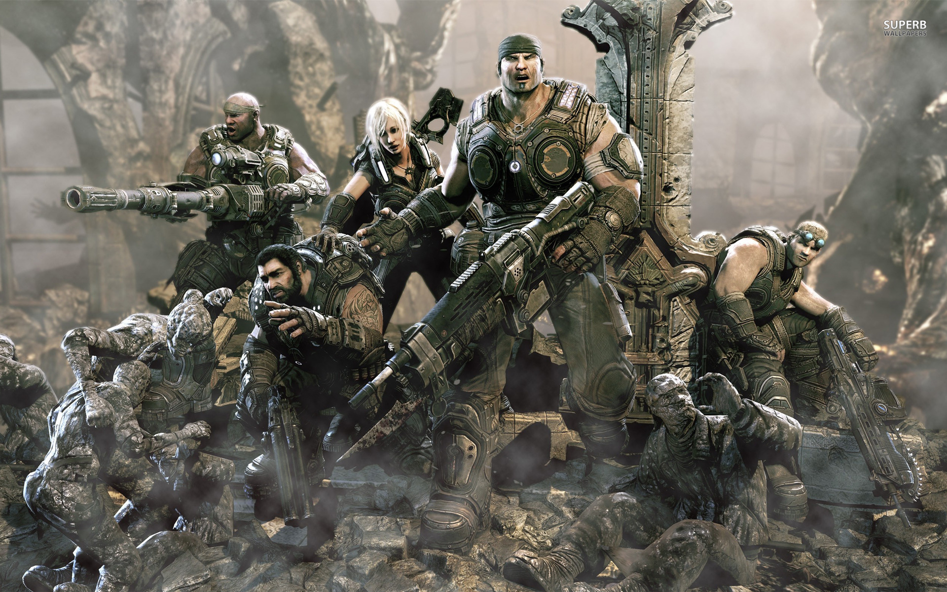 Gears of War Ultimate Edition Gameplay Click Here!