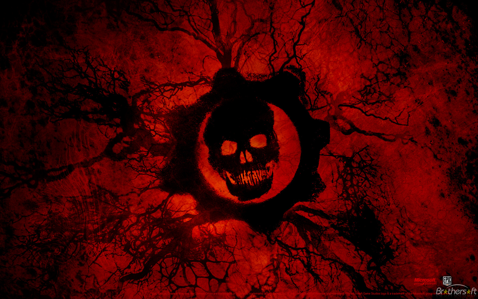 Gears Of War 3 Logo 1920x1200
