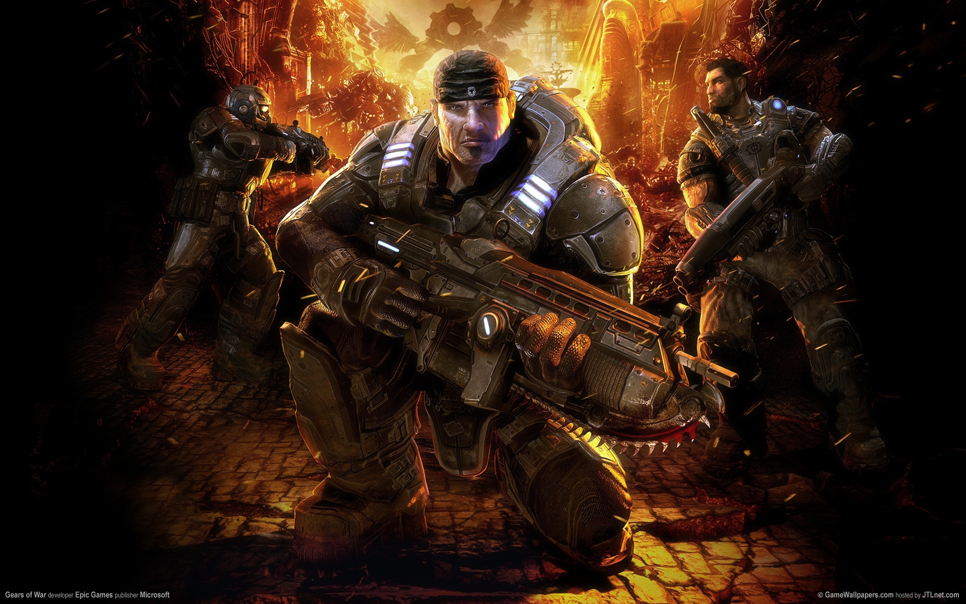 ... Gears Of War Wallpaper #3 ...
