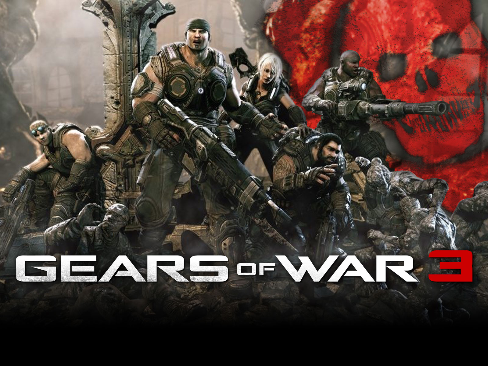 gears of war wallpaper | 1600x1200 | #67527