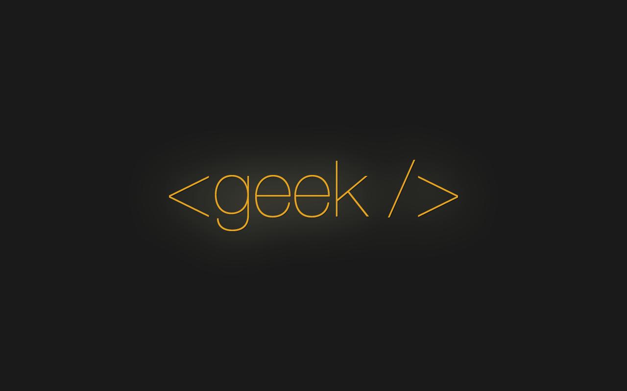 Geek Wallpaper HD