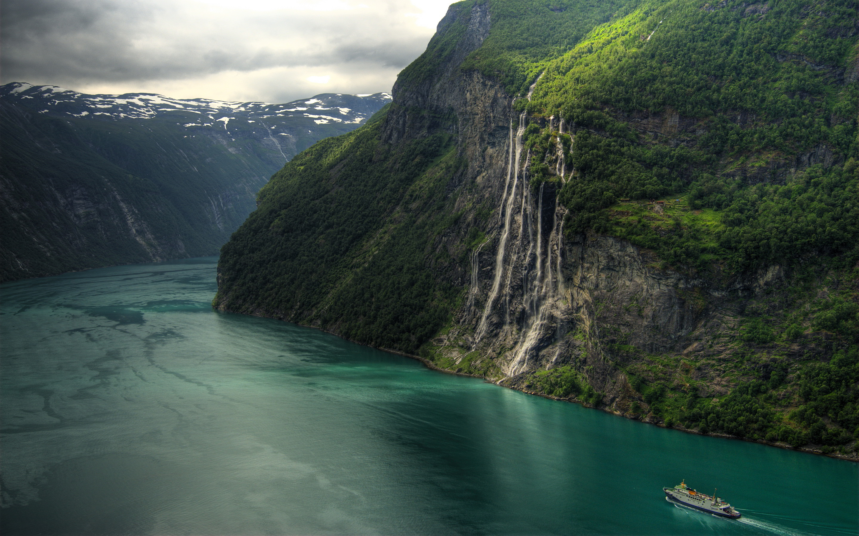 Geirangerfjord waterfalls