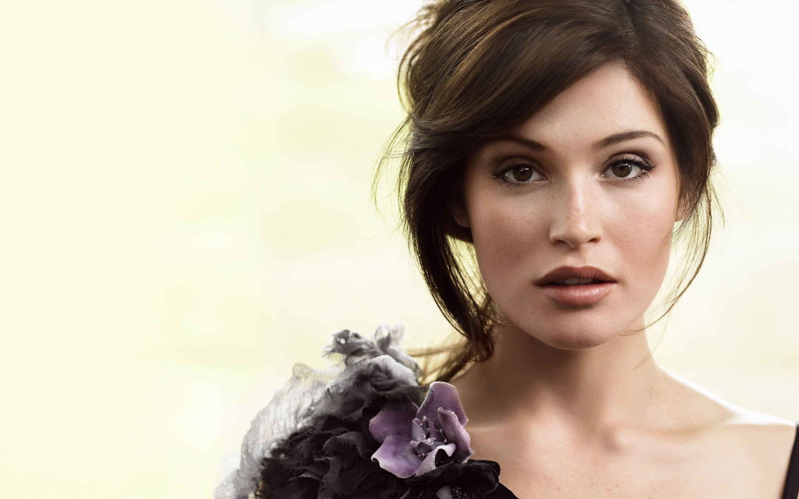 Please check our widescreen hd wallpaper below and bring beauty to your desktop. Gemma Arterton Wallpaper