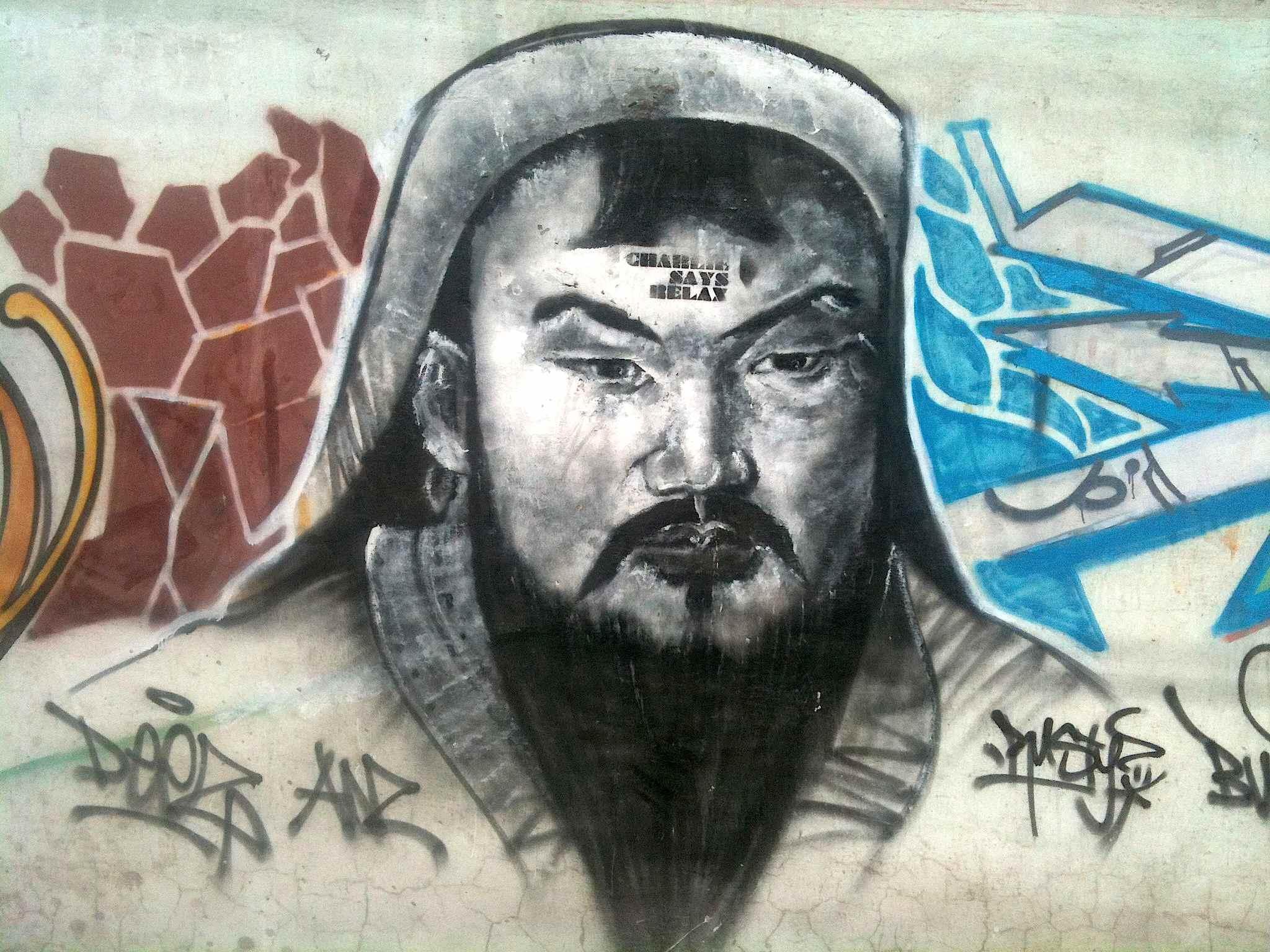 шивэсэний Чингис_хаан – tattooed Genghis Khan