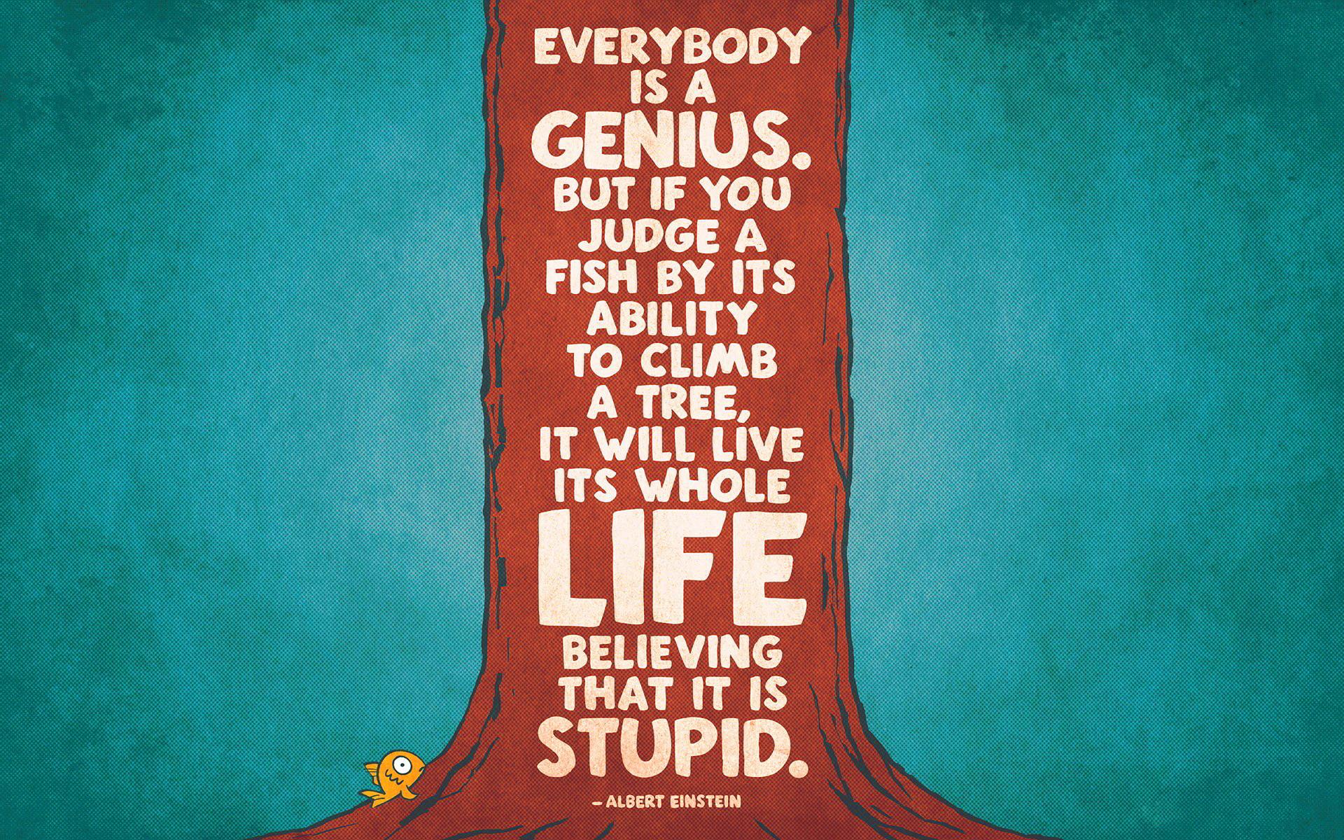 Genius albert einstein quote