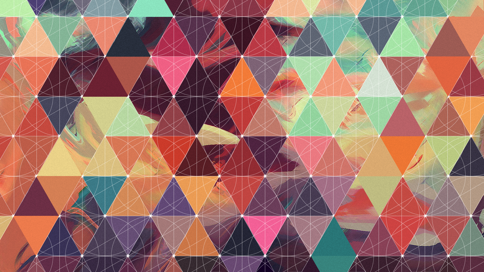 I made a geometric/abstract wallpaper today (1920x1080)