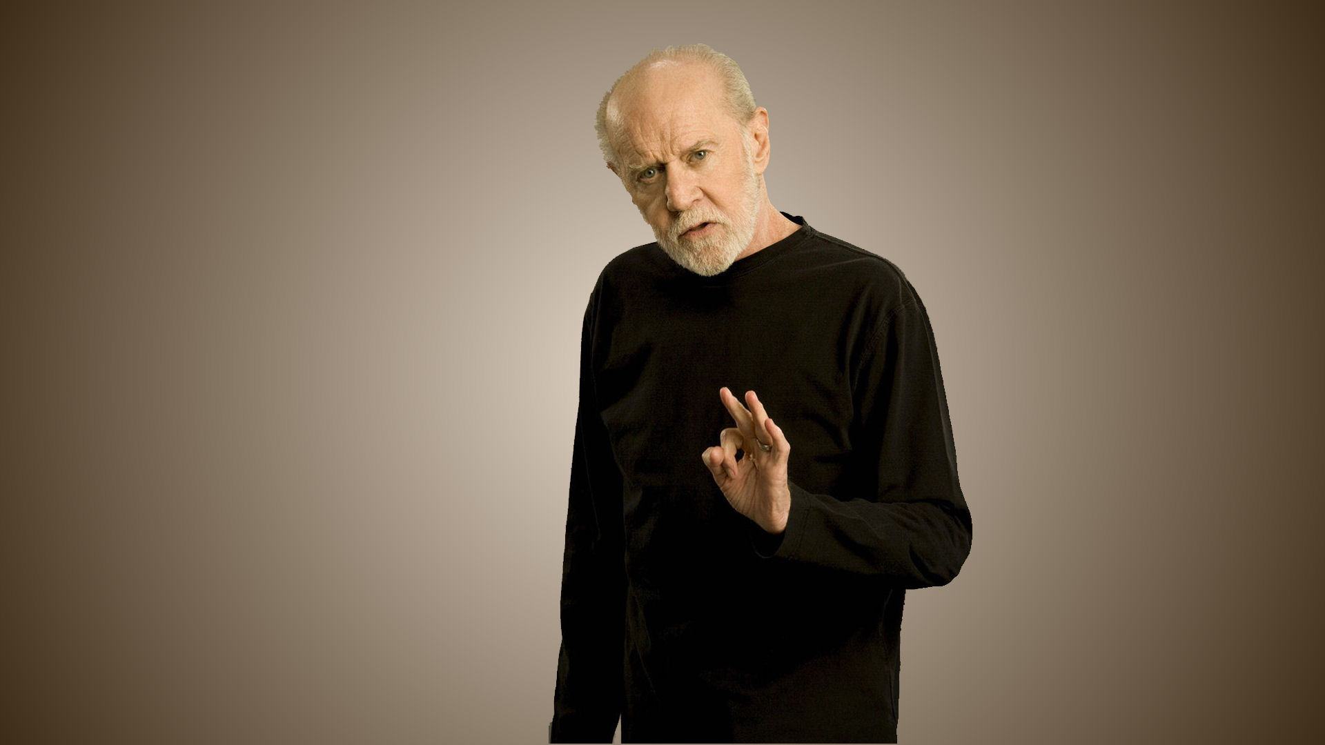 George Carlin concert review.