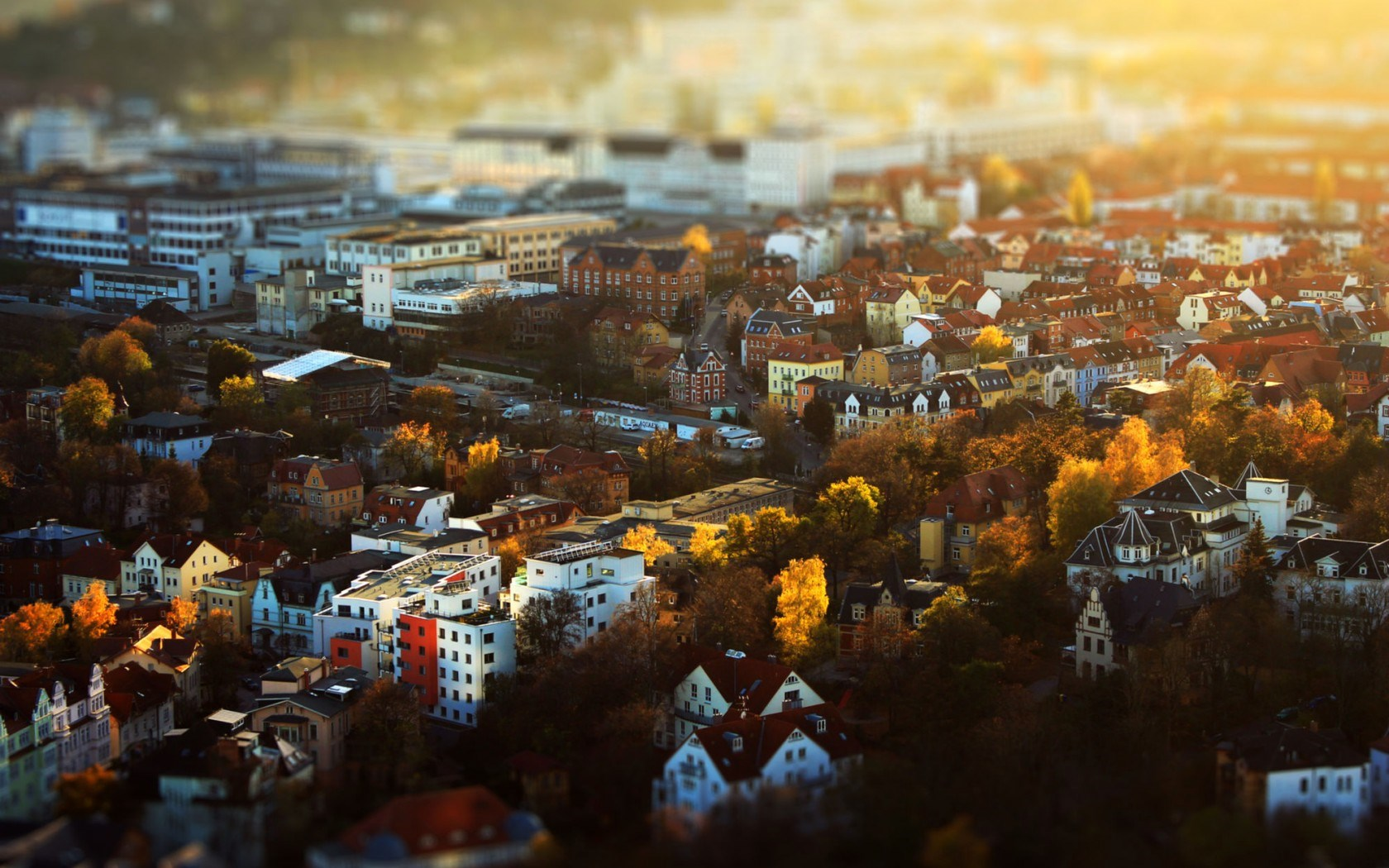 Germany Jena Thuringia Deutschland City Autumn