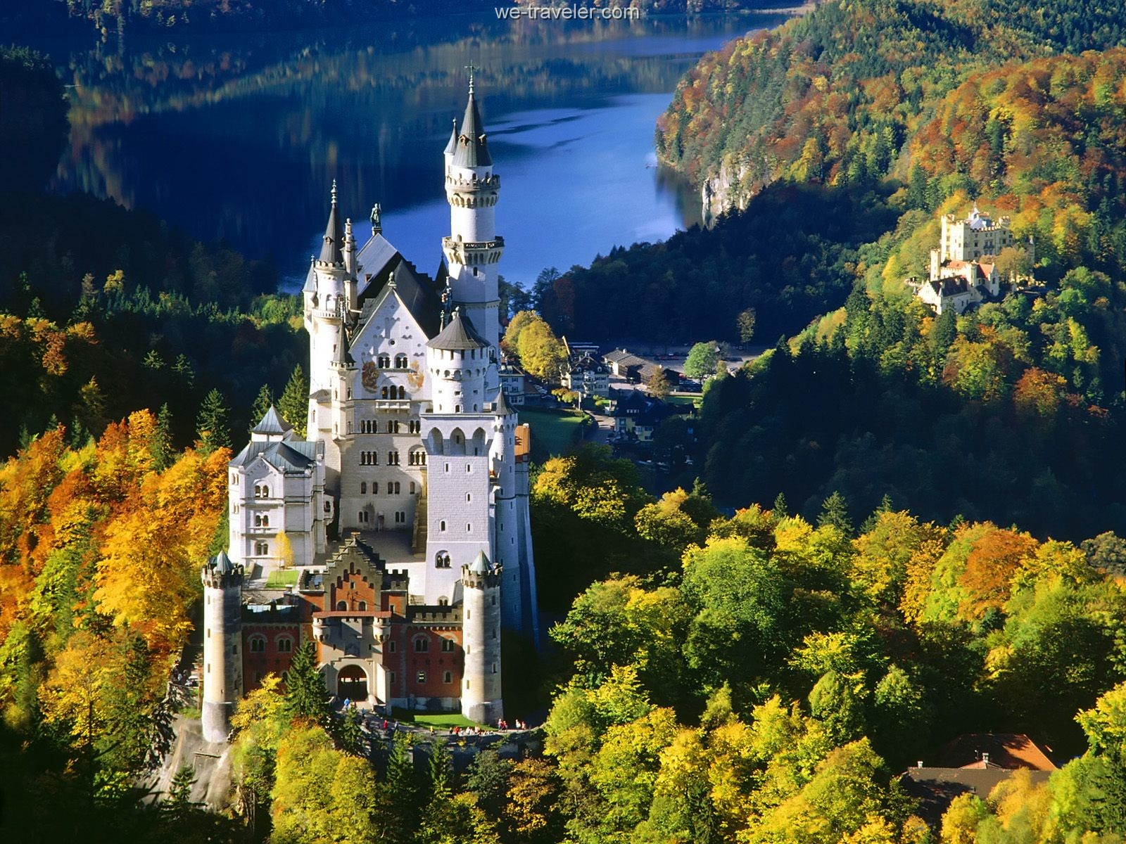 ... Neuschwanstein Castle, Bavaria, Germany ...