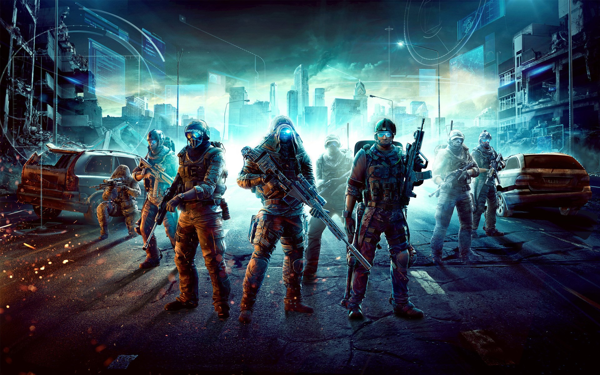 Ghost Recon City Soldiers Game