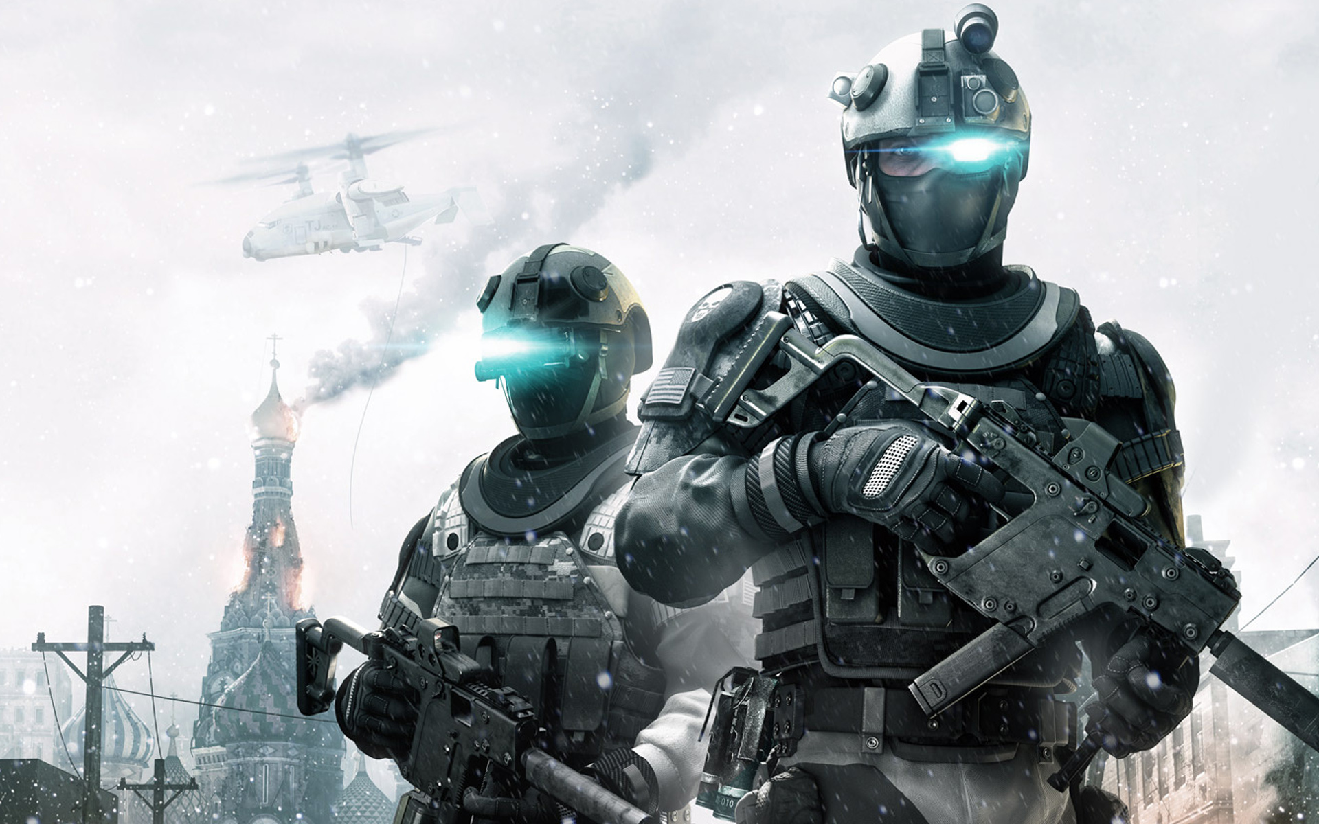 Ghost Recon Soldiers